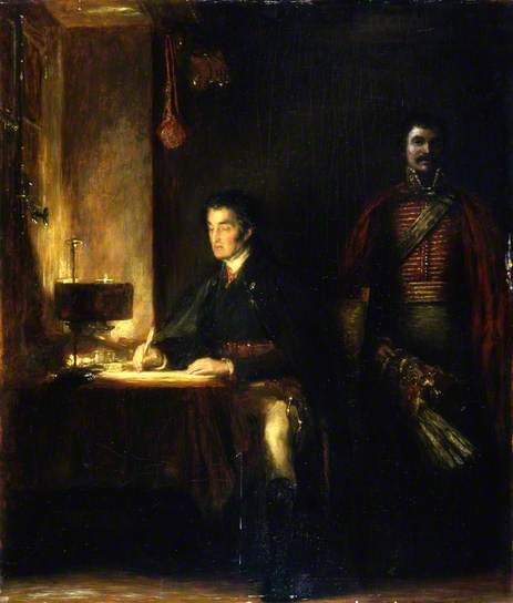 The Duke of Wellington Writing Dispatches by David Wilkie Aberdeen Art Gallery & Museums Date painted: 1836