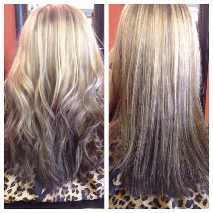 Reverse Ombre S...