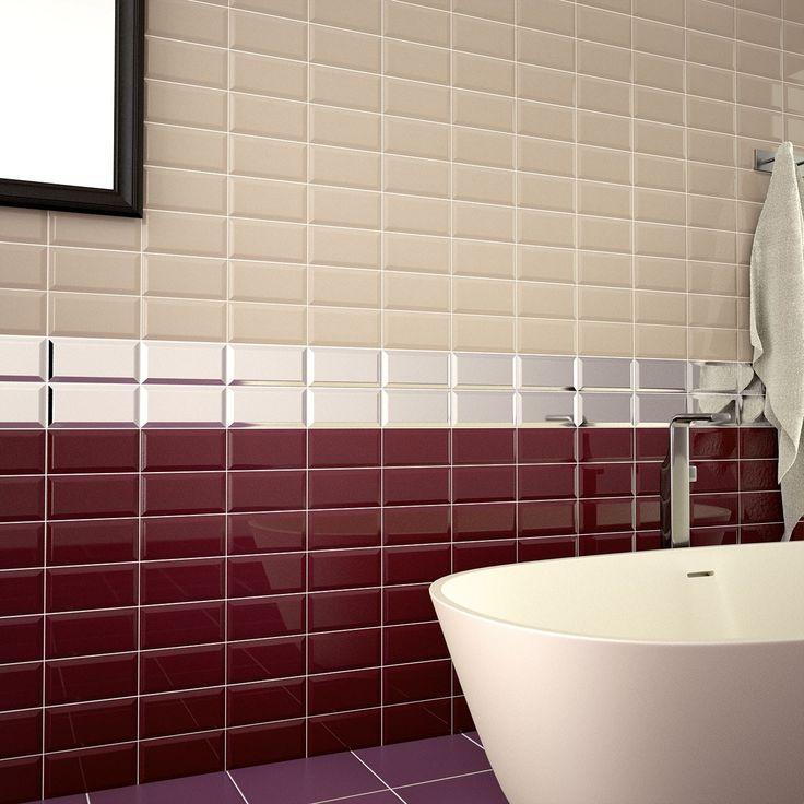 New Metro Plum 100 x 200 Ceramic Wall Tile