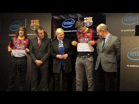 Innovatív Szponzoráció: Intel Logó A Barcelona Mez Belsején | Sportsmarketing.hu