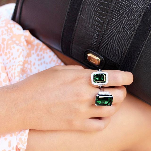 Trending - Emerald Rings