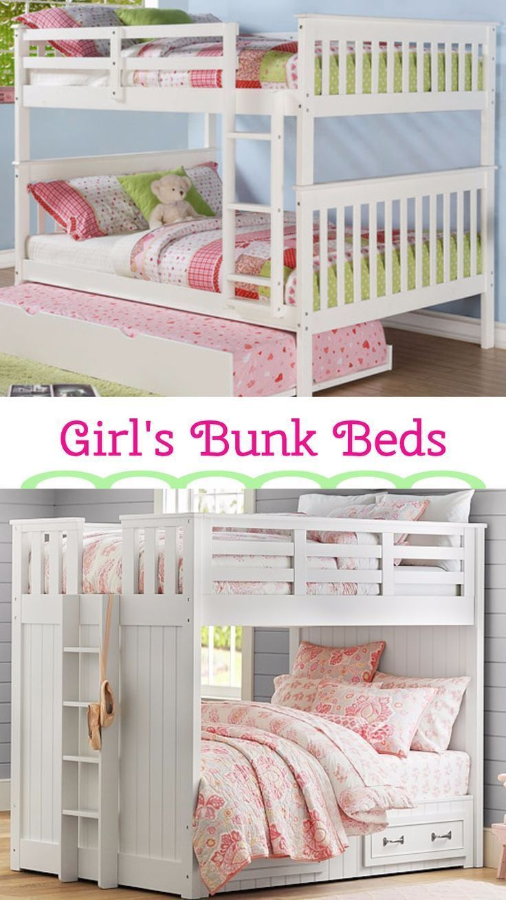 1000 ideas about bunk beds for girls on pinterest girls for Country girl bedroom designs