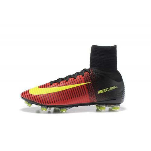 Best Nike Mercurial Superfly V FG Football Boots Orange Peach