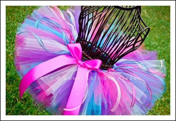 Birthday Wish Tutu Girls Tutu Skirt READY by sweetlollipopkisses