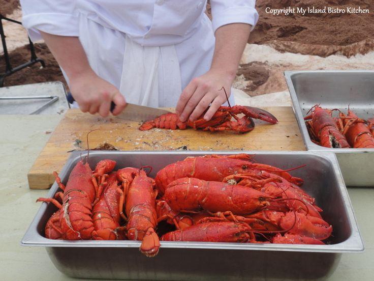 Lobster Party on the Beach: A blog post by @IslandBistroKitchen