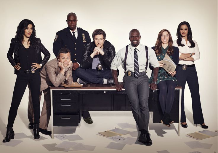 Brooklyn Nine-Nine. I don't want this show to ever end.