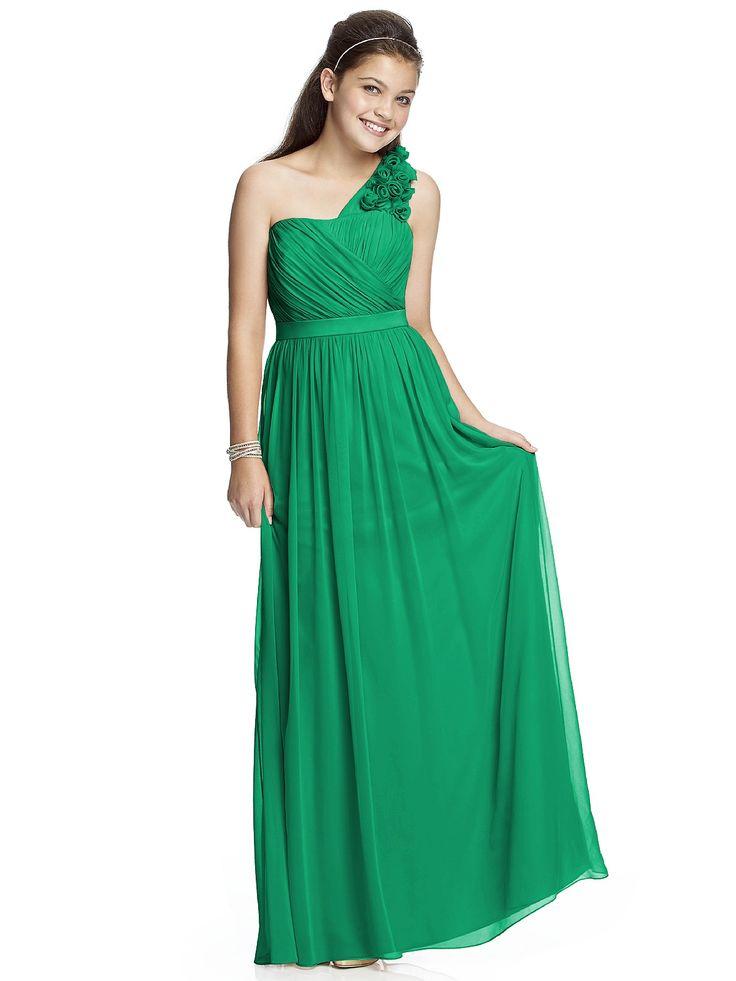 Junior Bridesmaid Dress JR526 http://www.dessy.com/dresses/junior-bridesmaid/jr526/