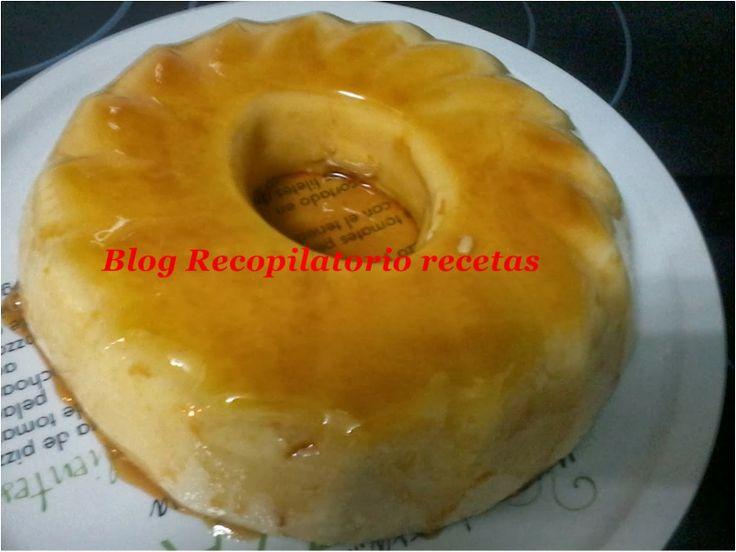Recopilatorio de recetas : Flan de piña en thermomix