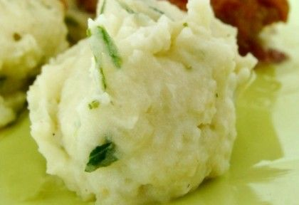 14. hét / április 5. vasárnap (húsvét): fokhagymás krumplipüré