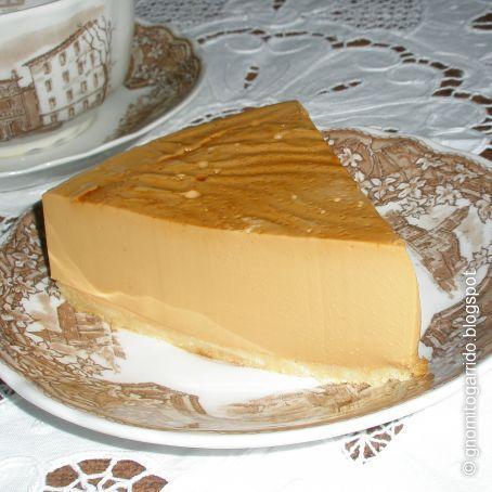 Tarta de dulce de leche y queso sin horno