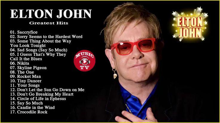 Best Songs Of Elton John Collection   Elton John Greatest Hits