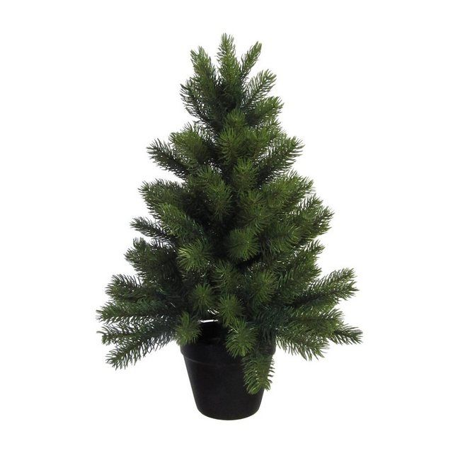 Kunstlicher Weihnachtsbaum Mit Schwarzem Kunststoff Topf Weihnachtsbaum Kunstlicher Weihnachtsbaum Und Baum