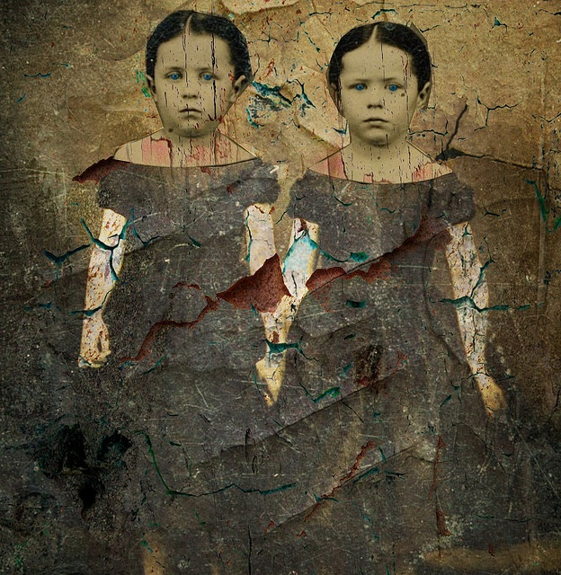 Mixed Media Altered Art - Collage by collage a day, via Flickr