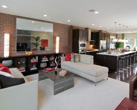Brownstone Collection Montague - contemporary - living room - dc metro - Carlyn And Company Interiors + Design