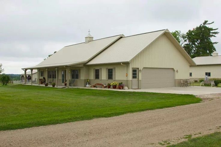 Pole shed home yahoo image search results pole shed design pinterest two tones cute - Barn like house plans plan ...