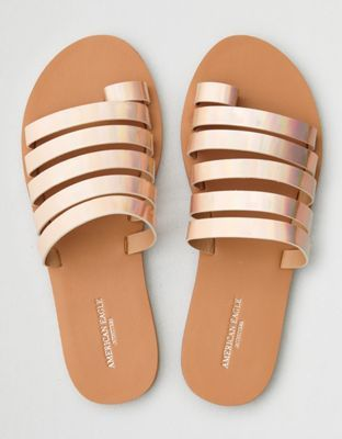 f398efbc5 AEO Toe Ring Strappy Slide Sandal by American Eagle Outfitters ...