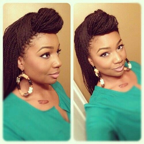 Small senegalese twist