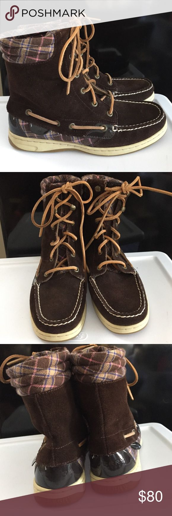 Sperry Top-Sider Boots NWOT Brand new! Only tried on! They are comfy but they never seem to make it out my closet. The size is 7M. Willing to drop price to $60 so that you can get reduced shipping 😊 Box not included. Sperry Top-Sider Shoes
