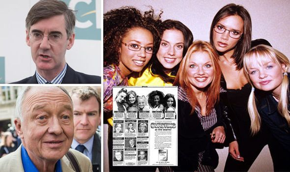 You wont BELIEVE why Ken Livingstone and Jacob Rees-Mogg loved the SPICE GIRLS in the 90s