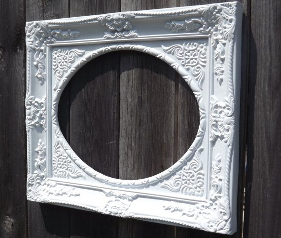 8 best White Ornate Shabby Chic Picture Frames images on Pinterest ...