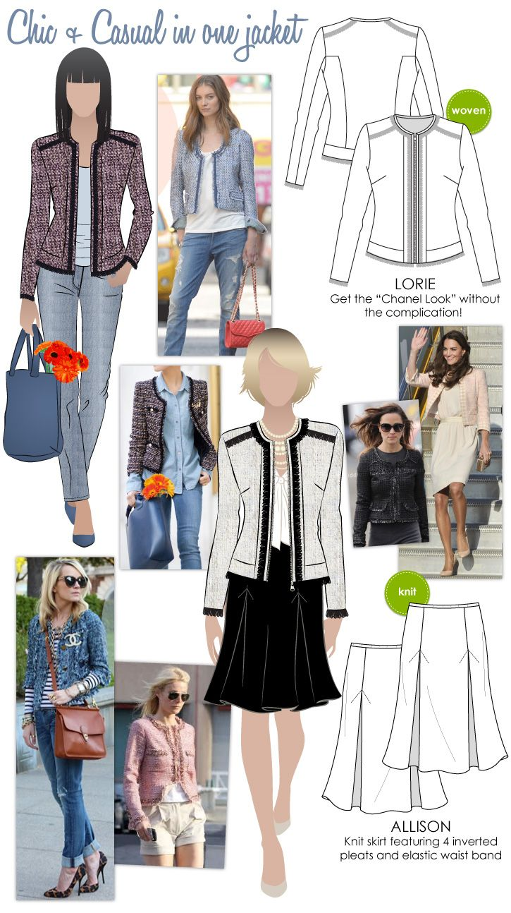 Casual + Chic in one jacket