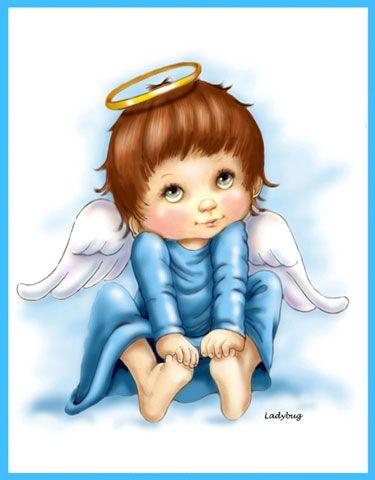 "༺ ༻ ᎯиG℮ℓѕ ༺ ༻ ~~""Blue Angel"" © Ladybug Creations"