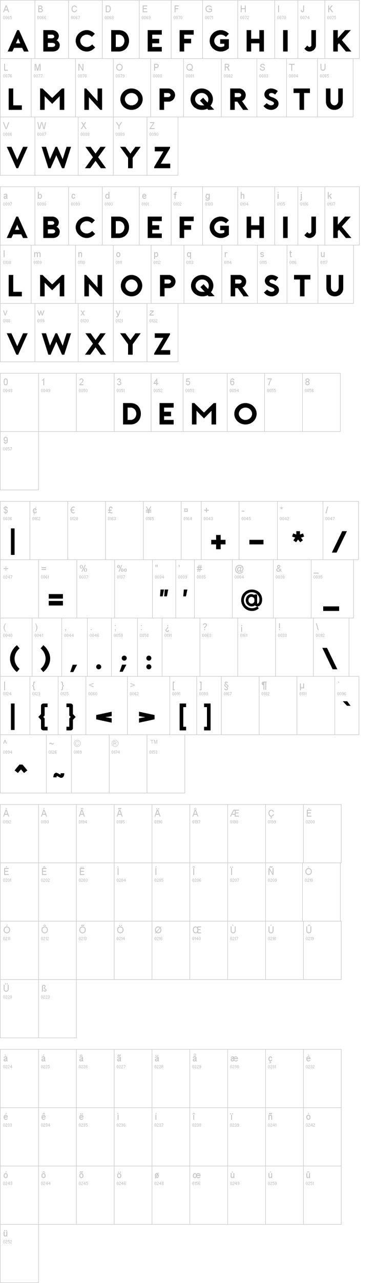 Porter Font Dafont, Logo fonts