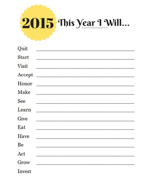 Brainstorming About the New Year