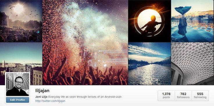 Instagram on jaettuja elämyksiä, myös yrityksille | Cliente