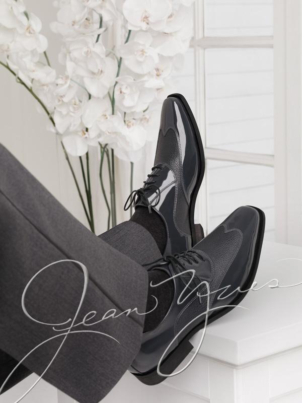 Page 10  Grey Manhattan Shoe by Frederico Leone
