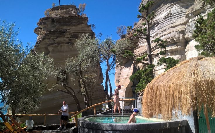 Too cold this autumn? The thermal springs of ISCHIA warm everyone! This volcanic island offers plenty of open-air and indoor hot thermal mineral baths...