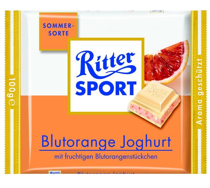 RITTER SPORT Blutorange Joghurt (2008)