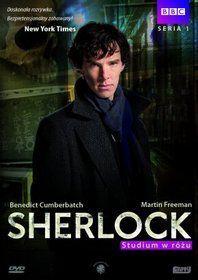 Sherlock - seria 1. Studium w  rozu