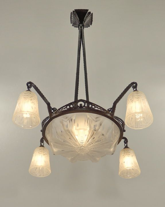 67 best images about luminaire art deco on pinterest - Luminaire art deco plafonnier ...