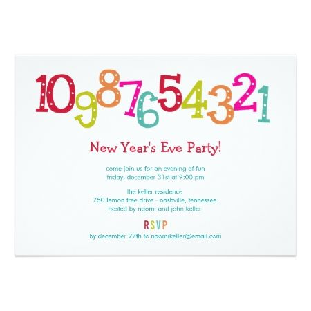 Best Buy New YearS Eve Party Invitations Images On