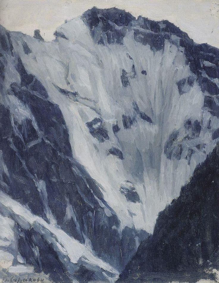 Снежные горы, 1897