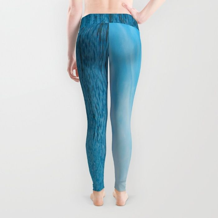 Sail Away With Me Leggings by Mixed Imagery | Society6
