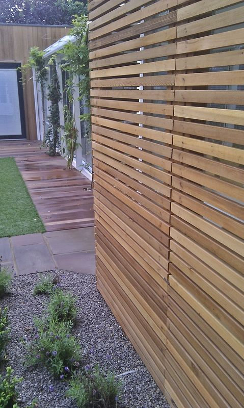 Modern Backyard Fence : , Cedar Fences, Fences Idea, Modern Privacy, Privacy Fences Modern