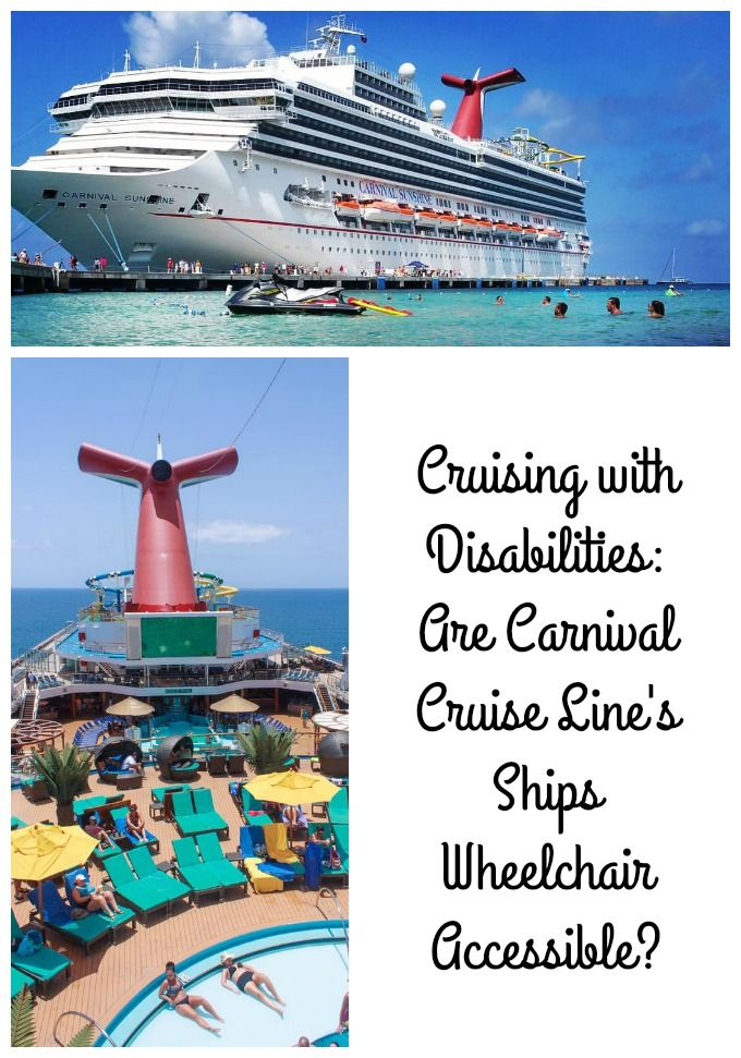 Cruising with Disabilities: Are Carnival Cruise Line's Ships Wheelchair Accessible? #CruisingCarnival