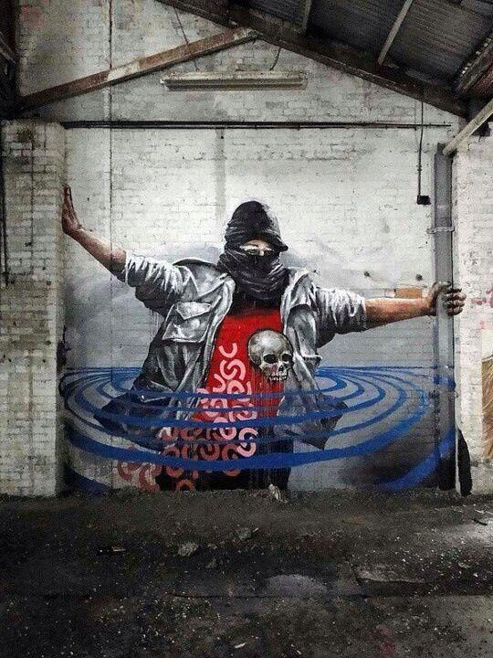 Fintan Magee, world's best street art, urban art, graffiti artists, street  artists