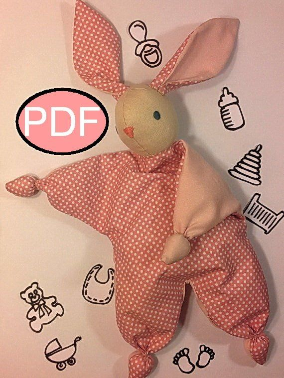 Bunny Sewing Pattern Bunny Comforter Waldorf Doll Pattern Tutorial