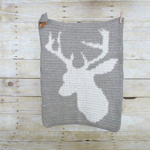 Oh Deer Kitchen Towel and Cloth set. by purlandcompany on Etsy, $48.00