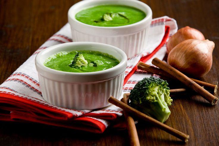 krémová polievka z brokolice, brokolicová polievka