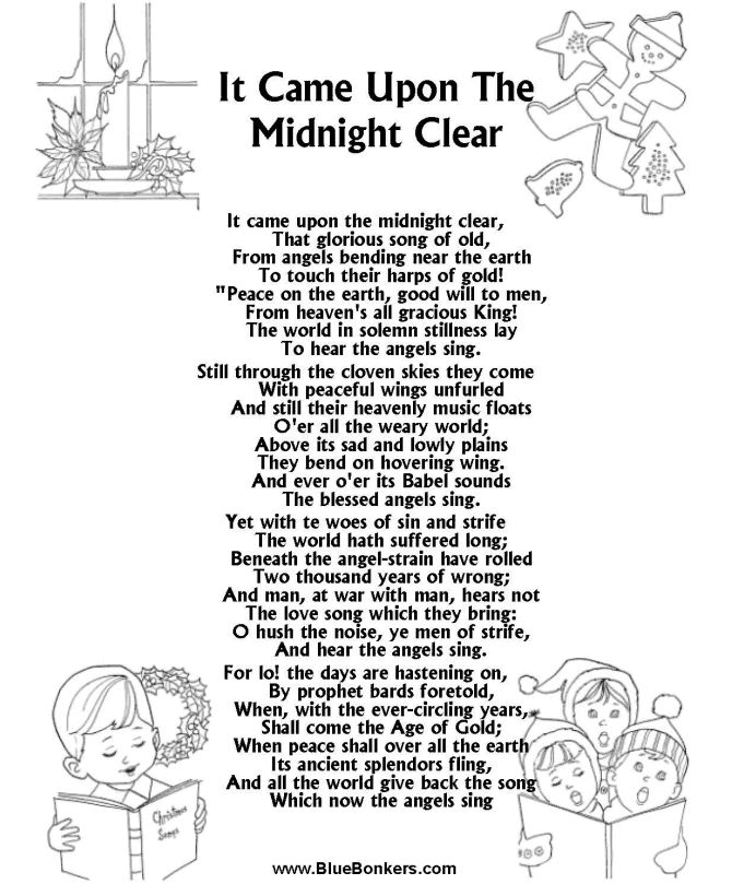 lyrics for christmas songs