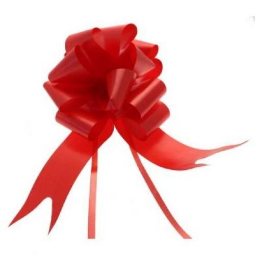 50mm pull bows available in a range of colours including red, hot pink, baby pink, yellow baby blur, royal blue, purple, white, ivory, black, silver & gold http://www.wfdenny.co.uk/t/pull-bows/433/