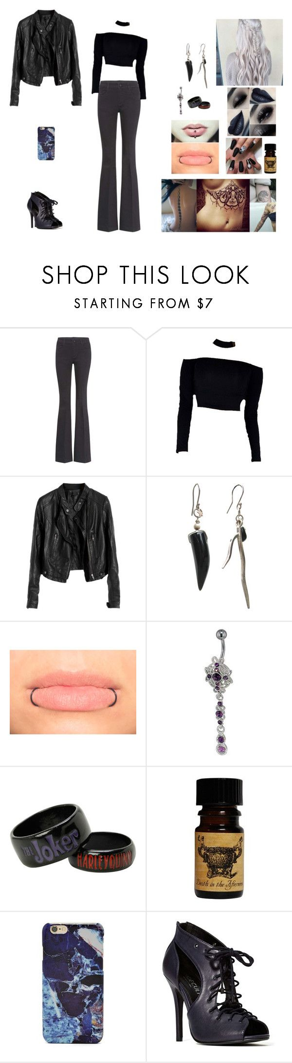 """Horror #1"" by jazmine-bowman on Polyvore featuring STELLA McCARTNEY, Hayden-Harnett, Hot Topic, Forever 21 and Shoe Cult"