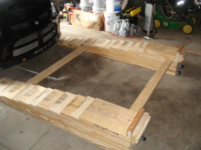 How to build homemade car ramps dodge srt forum do Car lift plans