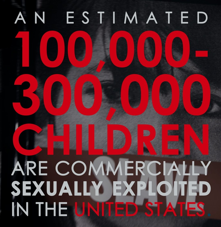 child sex trafficking in the united It was reported in 2010 that thailand and brazil were considered to have the worst child sex trafficking  on media coverage on human trafficking in the united.