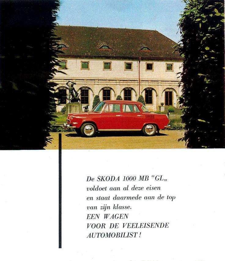 1964-69 Skoda 1000 MB GL