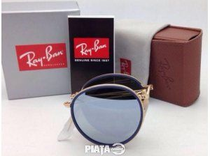 Vestimentatie, Bijuterii, accesorii, Ochelari Ray Ban Round Folding 3517 001/30, imaginea 1 din 7